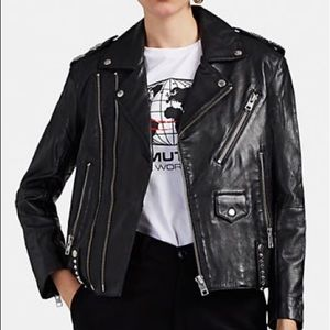 Zadig & Voltaire leather jacket NEW